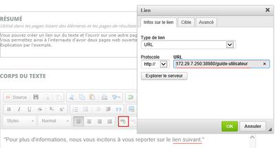 Cr er un lien avec ouverture sur une nouvelle page guide for Ouvrir un lien dans une nouvelle fenetre html